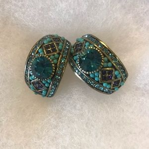 Heidi Daus clip on earrings